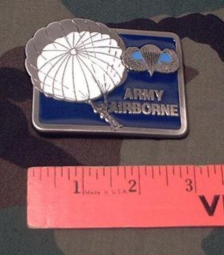 Belt Buckle: Army Airborne