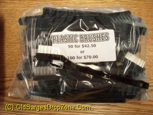 Plastic Cleaning Brushes 100 Pk