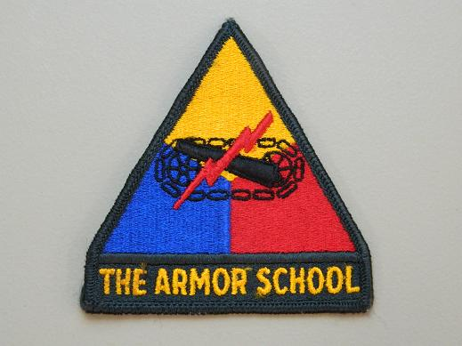 The Armor School- Color Patch w/Tab