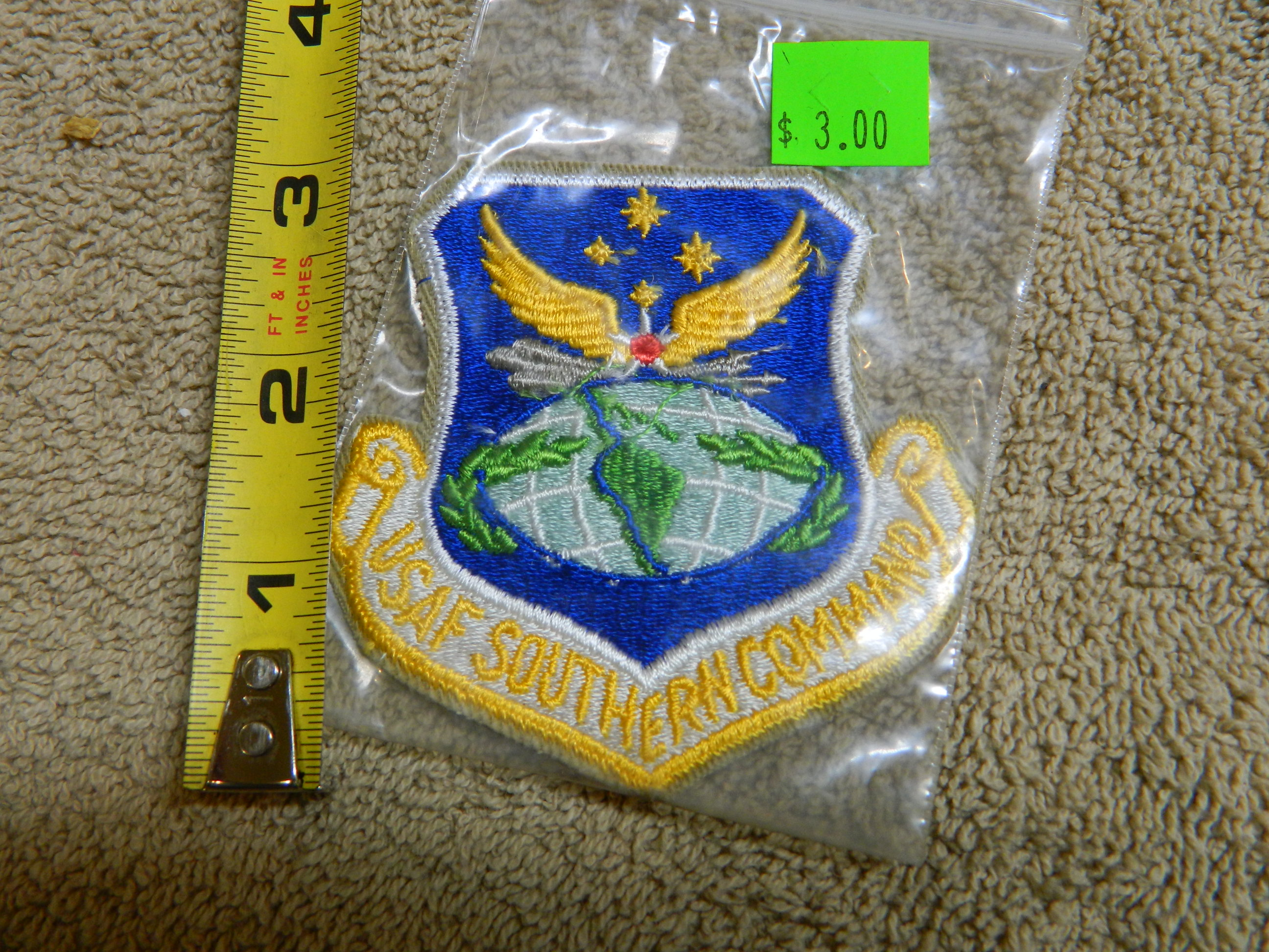 USAF: USAF SOUTHERN COMMAND- Color Patch