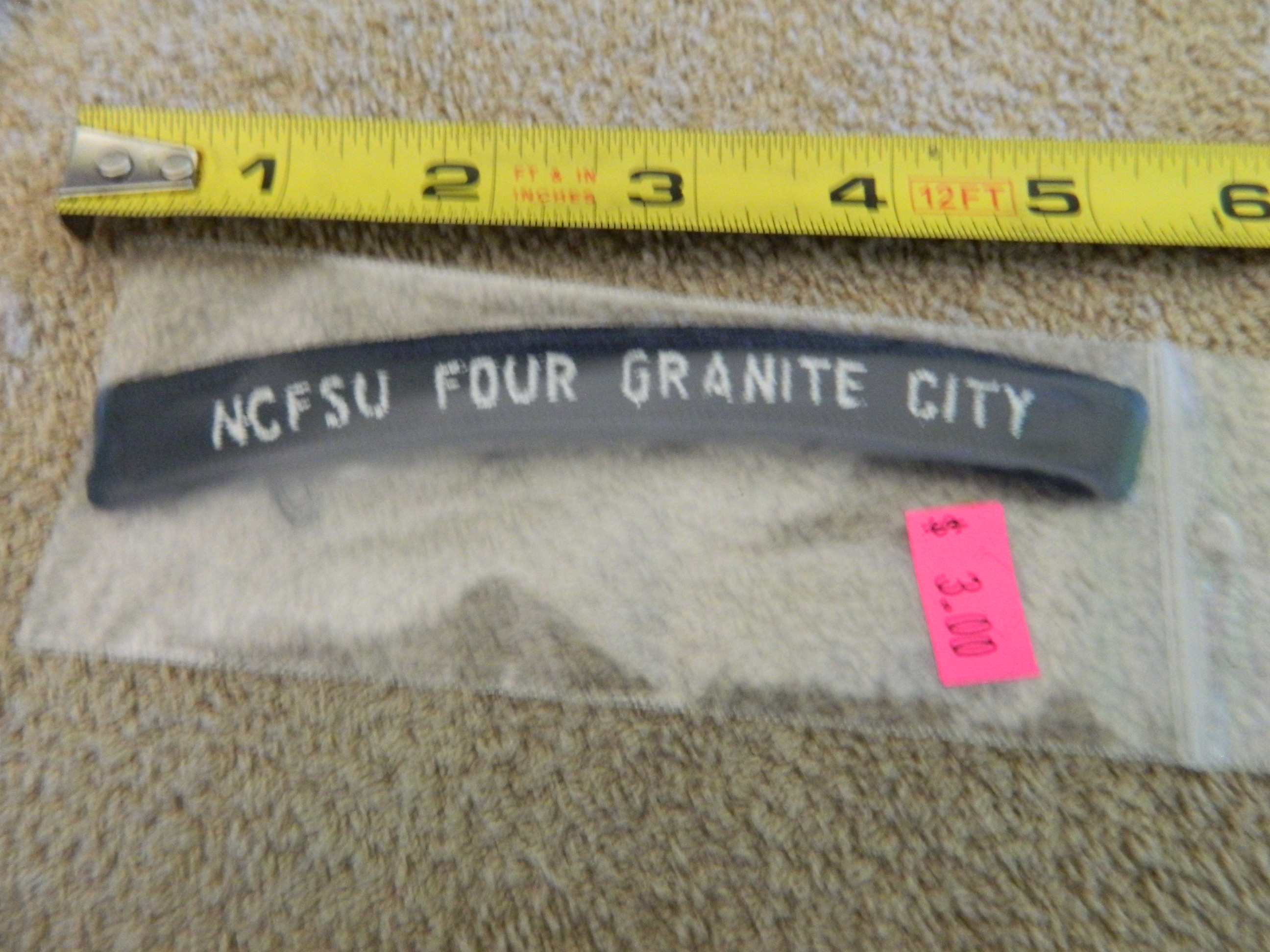 USN Rocker: NCFSU FOUR GRANITE CITY
