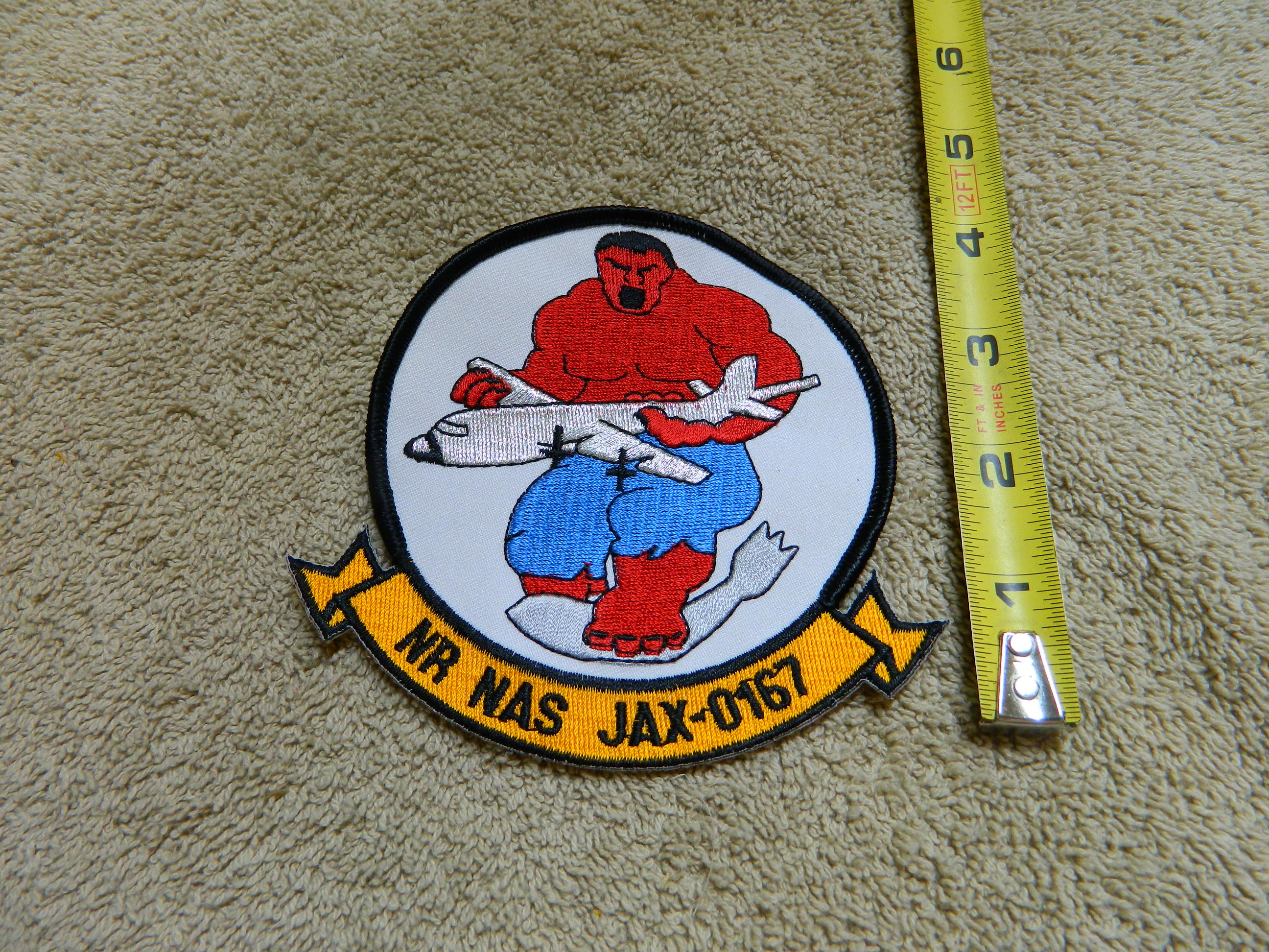 NR NAS JAX-0167 Color Patch