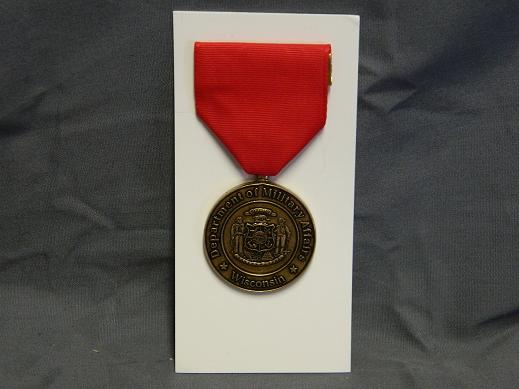 Wisconsin National Guard Commendation Medal- Full Size